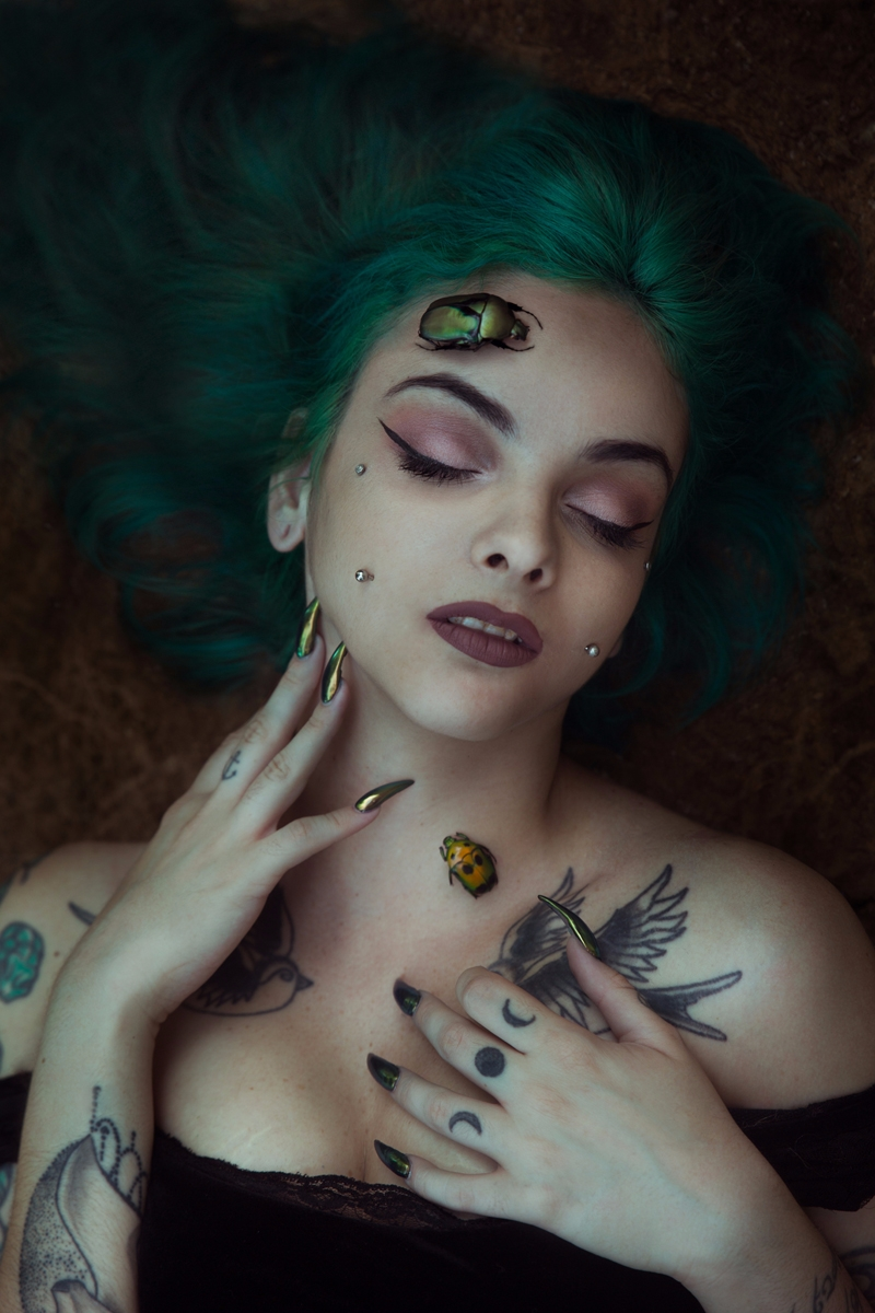 Photographer:Rona Bar Model:R - darkbeautymag | ello