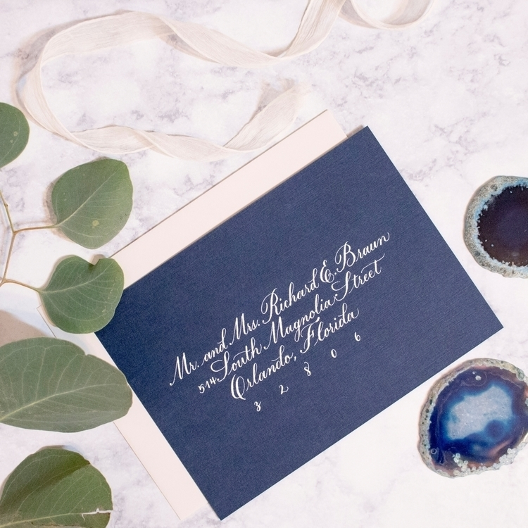 Classic Copperplate Style  - moderncalligraphy - free_inker | ello