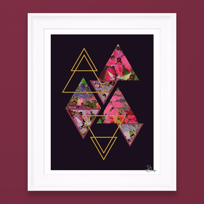 Purple Fall Elegant abstract co - designdn | ello