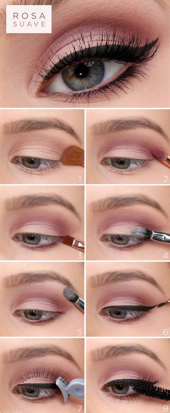 Um passo de maquiagem com delin - maquiagem_para_festa | ello