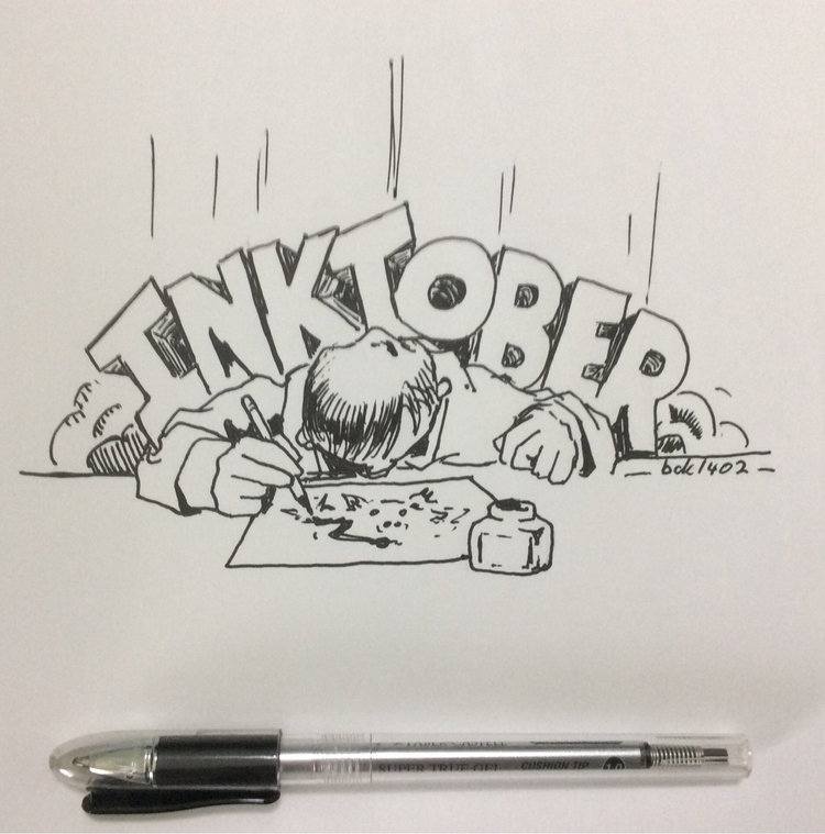 Inktober 2017 Week Note: additi - bck1402 | ello