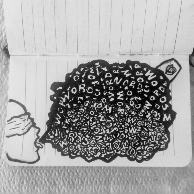 shut mouth - random, doodle - rayanuki | ello
