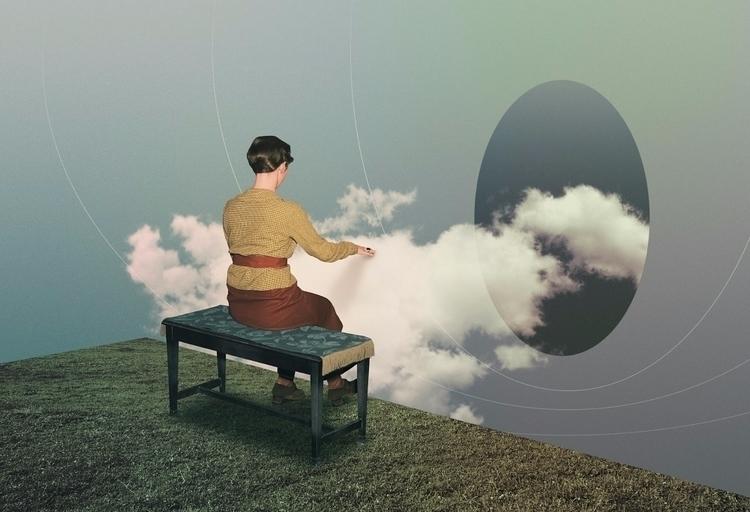 Vapor Organist (2017 - collage, ellocollage - julienp | ello