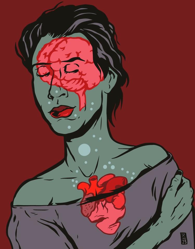 Emotionally Transparent - illustration - thomcat23 | ello