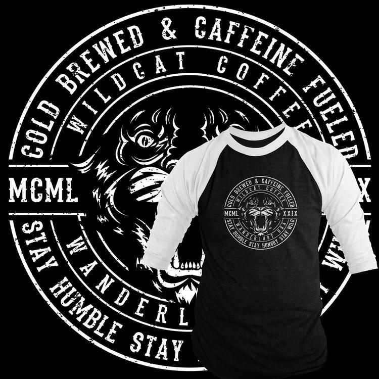 Caffeine fueled badge logo fake - uprisearts | ello