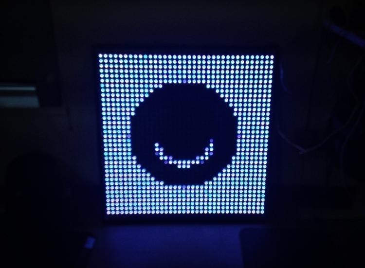 Ello LED - processing, cachefloweoriginal - cacheflowe | ello