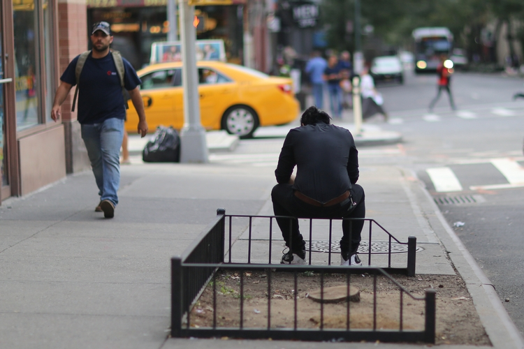 **Sitting** guy sitting fence 5 - kevinrubin | ello