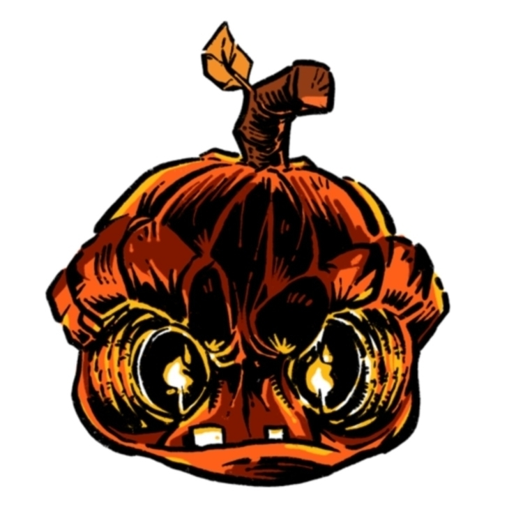 scary good procreate - jackolantern - alienant | ello