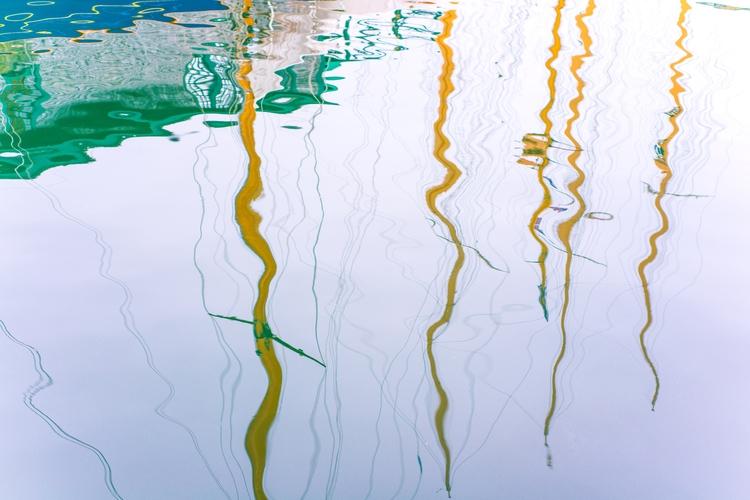 Island Ships - Newport, Rhode, Reflections - usnrmustang | ello