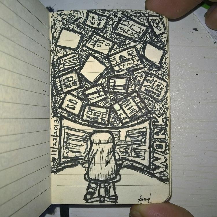 Workload - random, doodle - rayanuki | ello