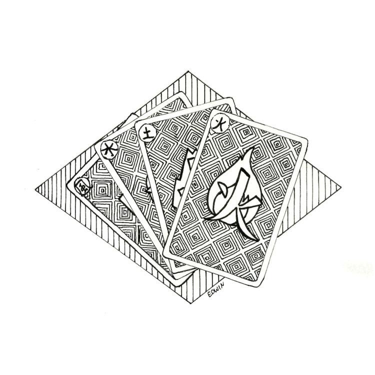 | Inktober - mysterious 15.10.2 - edwln | ello
