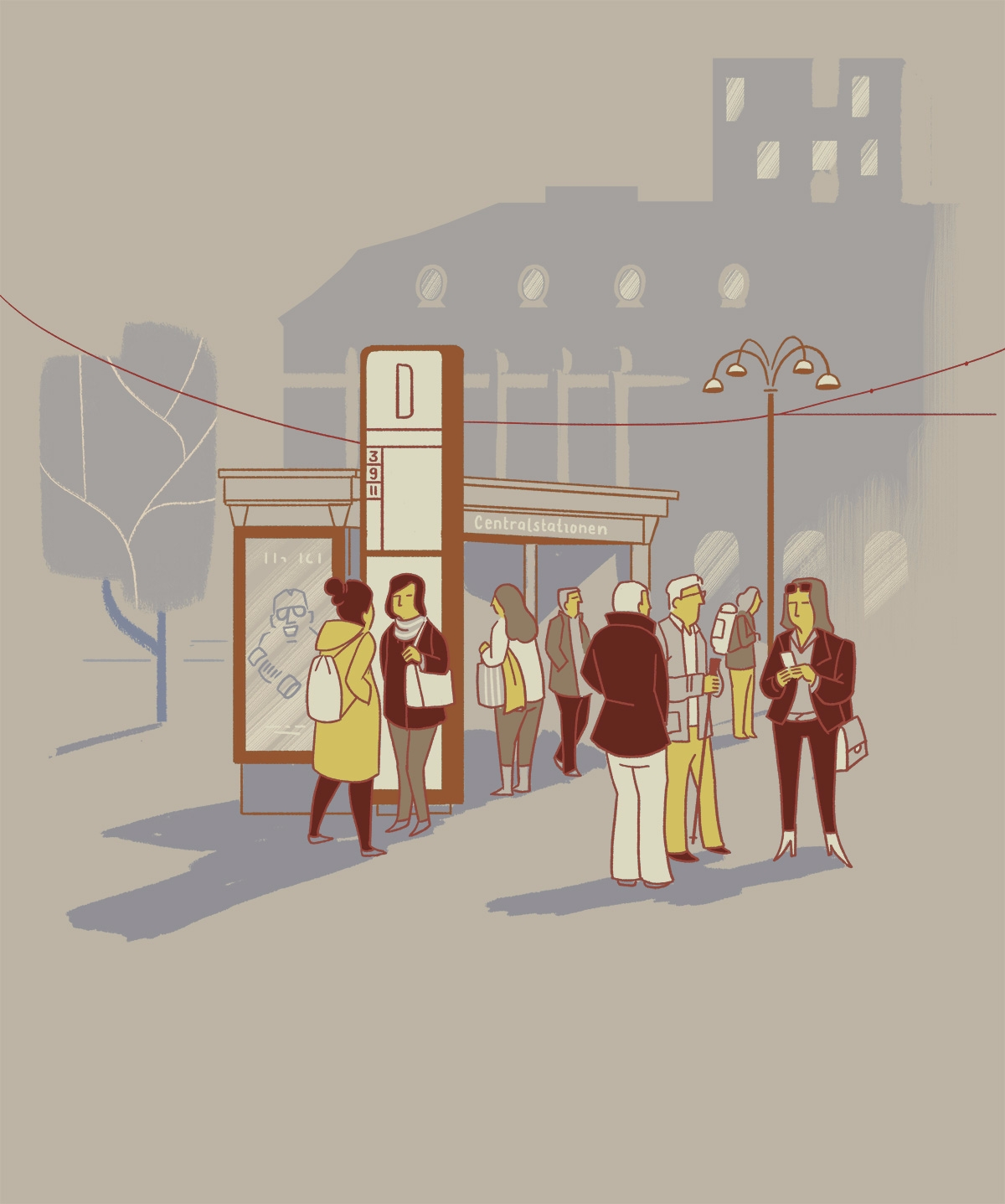 Personal sketch Gothenburg. Peo - danielspacek | ello