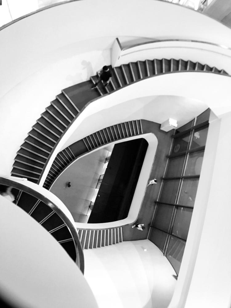 stairs, blackandwhite, nationaltaichungtheater - mathmac | ello