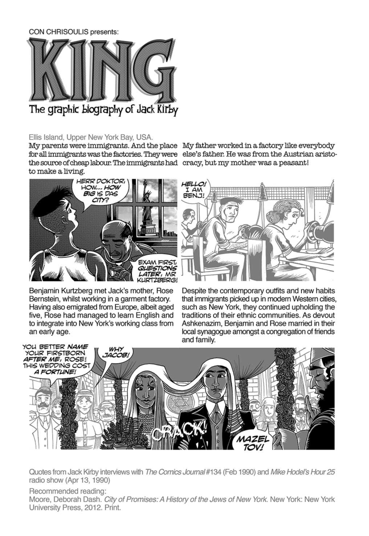 KING: GRAPHIC BIOGRAPHY JACK KI - conchrisoulis | ello