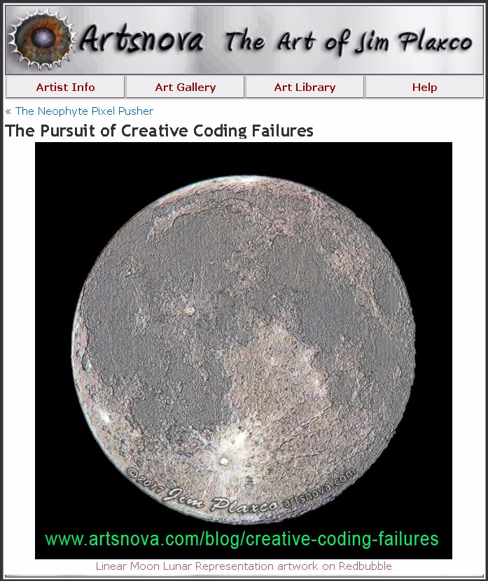 wrote failure save creative cod - jim_plaxco | ello
