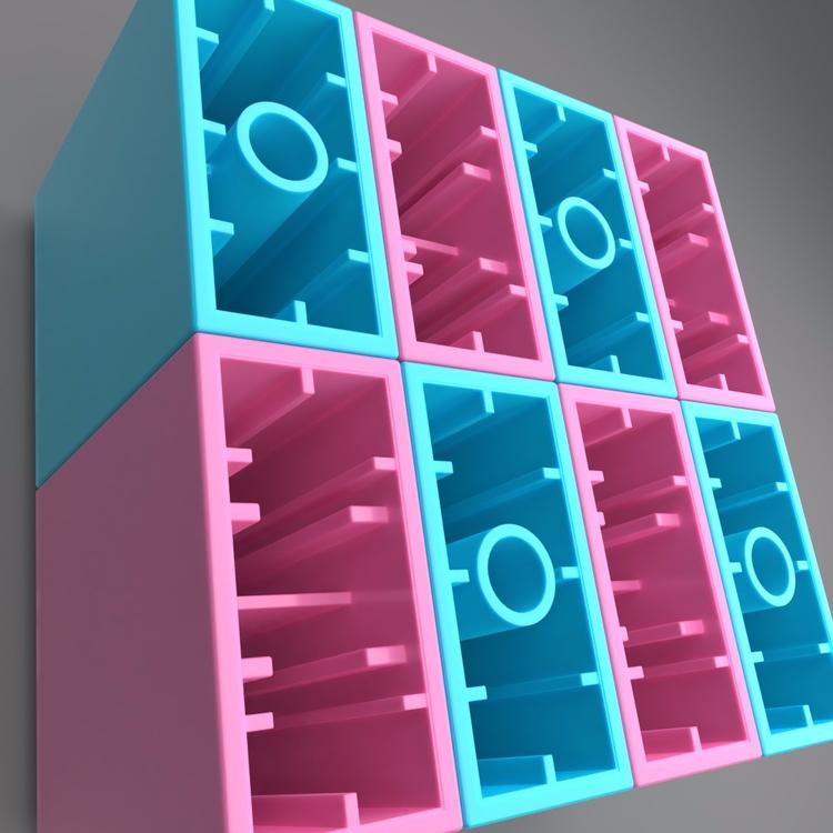 Bricks - duplo, lego, 3d, render - juho | ello