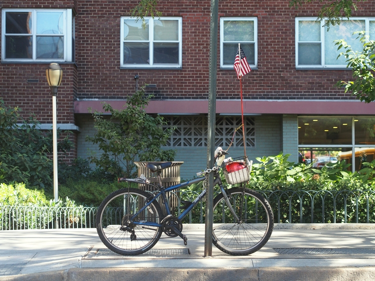 moon. bike flag - NYCSteelponies - nycsteelponies | ello