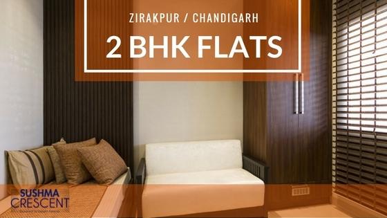 Book 2 BHK Flats Zirakpur, Chan - sushma-buildtech | ello