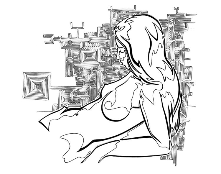 Vanessa, relaxing maze created  - robert_bentley | ello