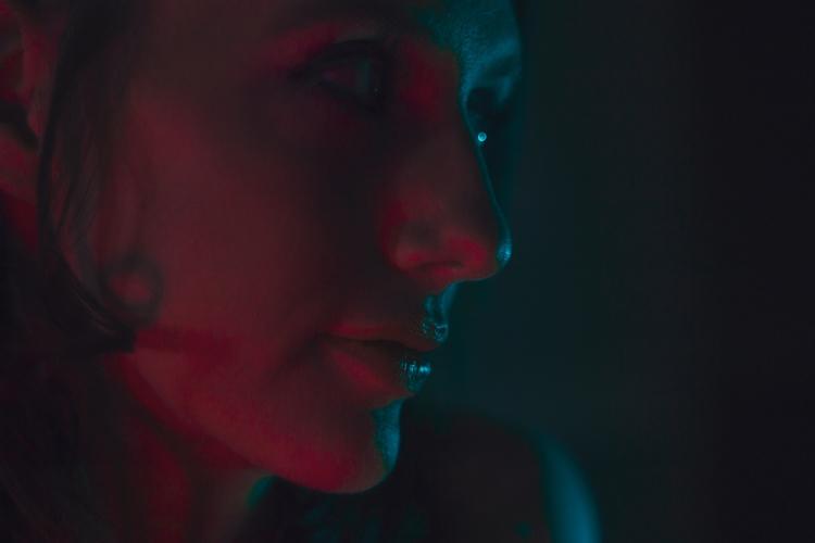 Rockella - portrait, vibrant, abstract - kylie_hazzard_visuals | ello