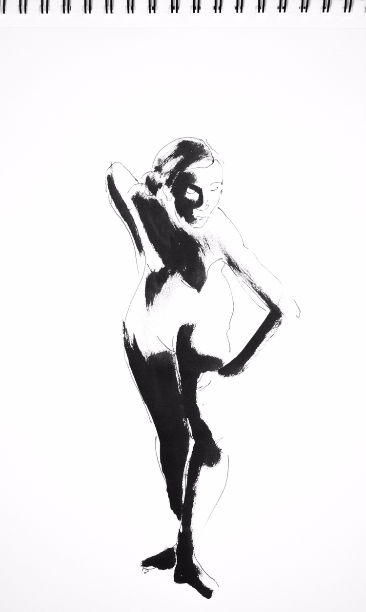 16th October minute poses - lifedrawing - mickepe | ello
