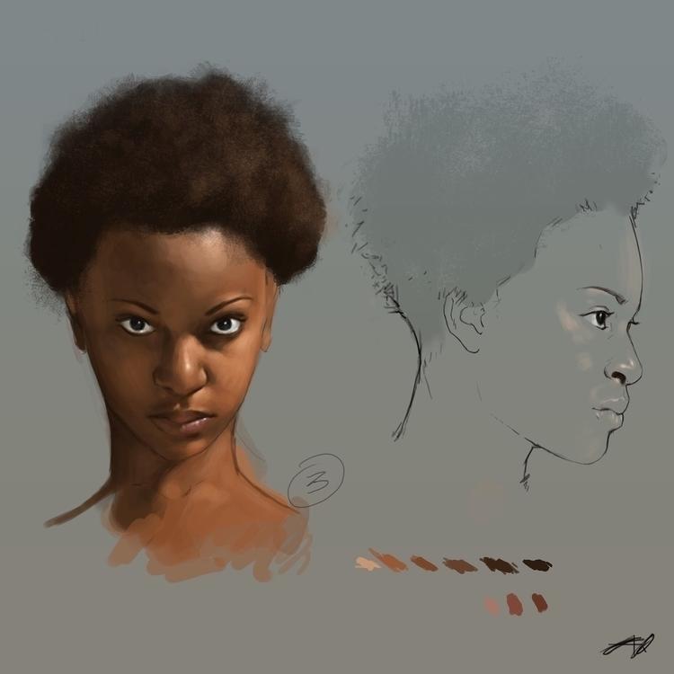 Sunday Sketch (Tuesday edition - aqno | ello