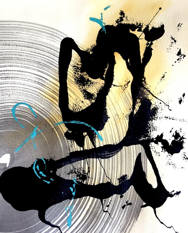 Lynette Melnyk creates painting - lynettemelnyk | ello