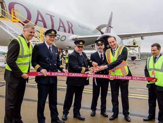 Qatar inaugural freighter touch - stattimes   ello