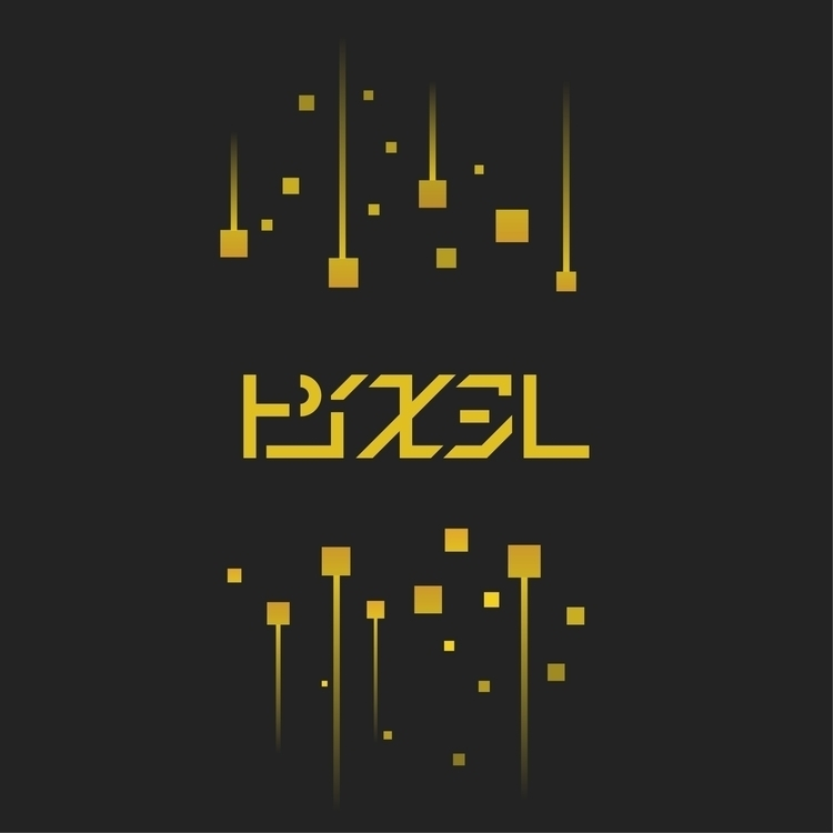 PIXEL - ピクセル - Logo, Design, Katakana - falcema | ello