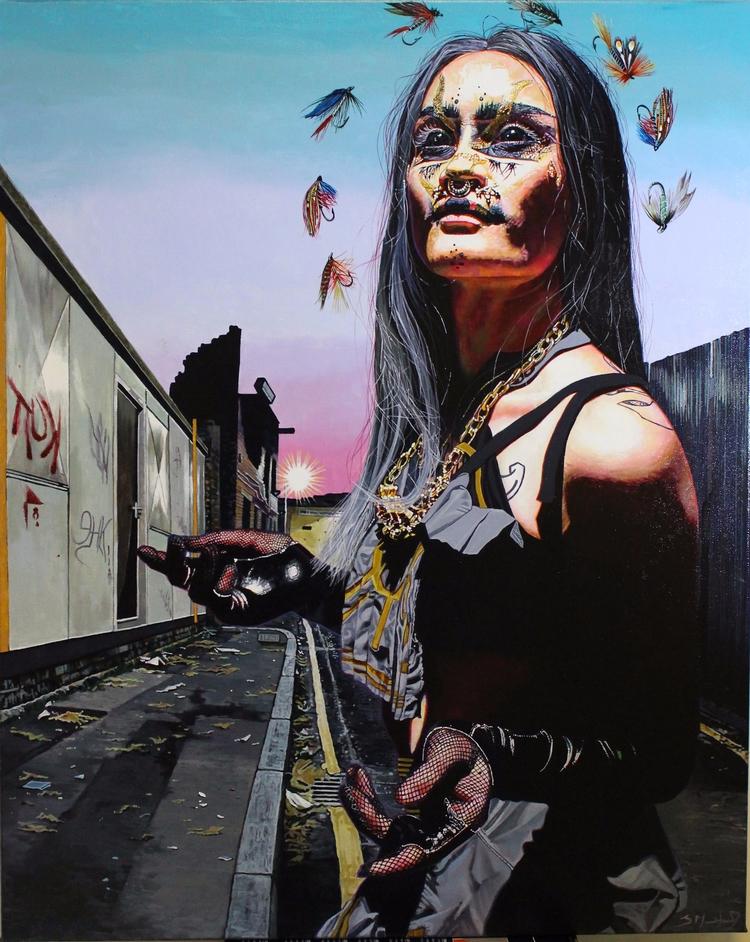 'Prophet' Acrylic canvas | 61 7 - sarahmuirhead | ello