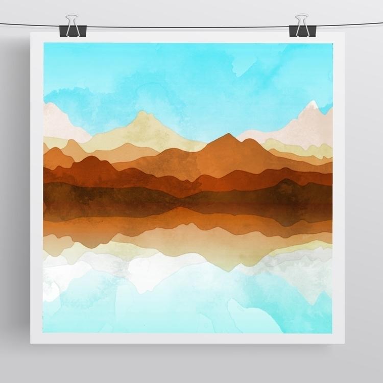 Finished Western Sky Reflection - littlebunnysunshine | ello