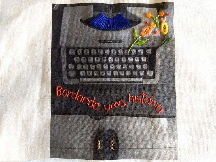 Embroidering history. Embroider - fofysfactory | ello