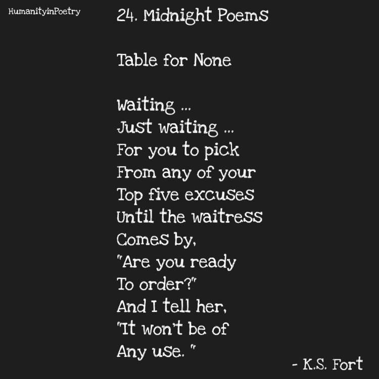 Link Poem, Table - poetry, poet - humanityinpoetry | ello