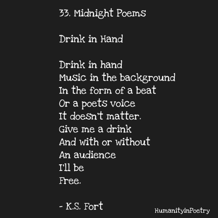 Link Poem, Drink Hand - poetry, poet - humanityinpoetry | ello