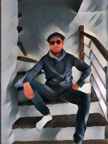 chilling stairs - malas | ello