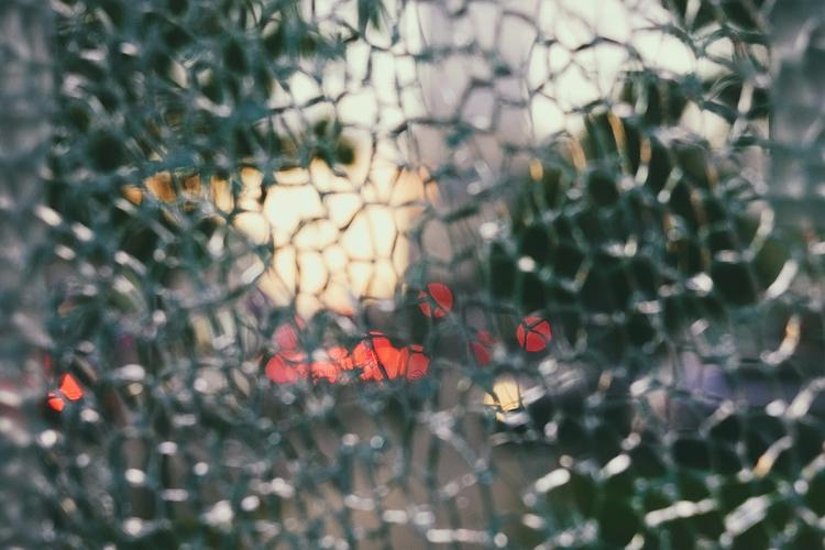 broken destroyed - bokeh, shattered - gr4y1nu | ello