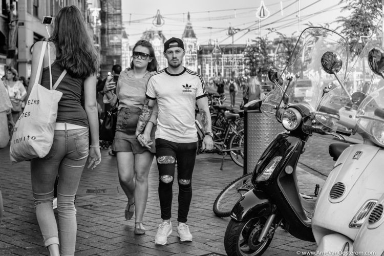 People Amsterdam - Blackandwhitephotography - arnevanoosterom | ello