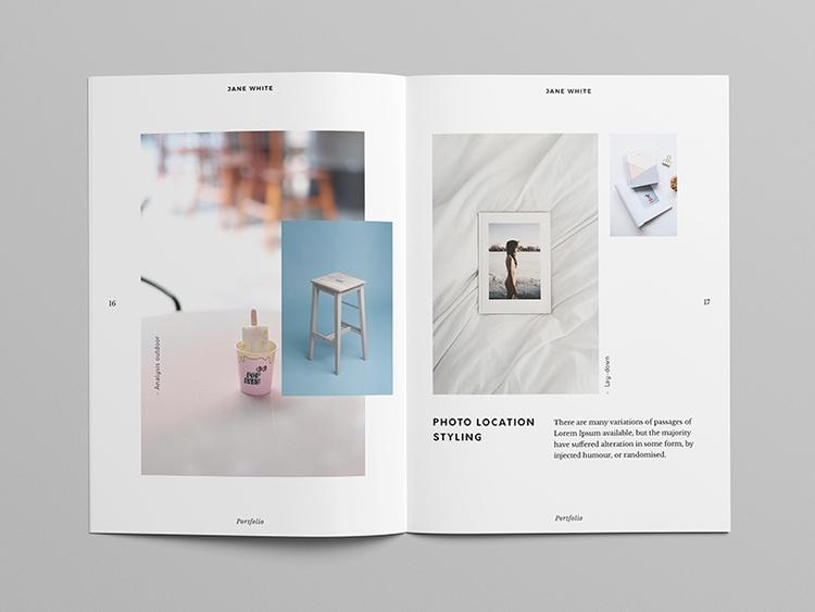 Super Minimal portfolio templat - pagebeat | ello
