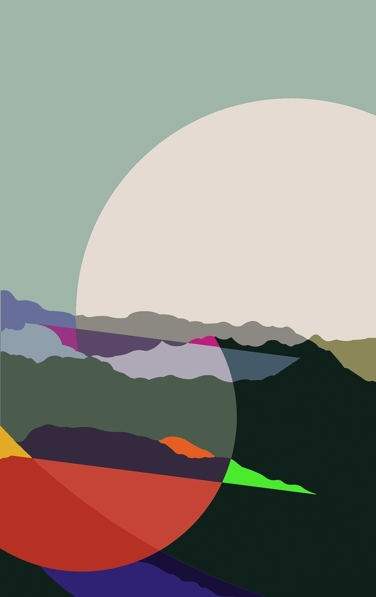 nebra1062_acrylic canvas_116x73 - rafamateo | ello