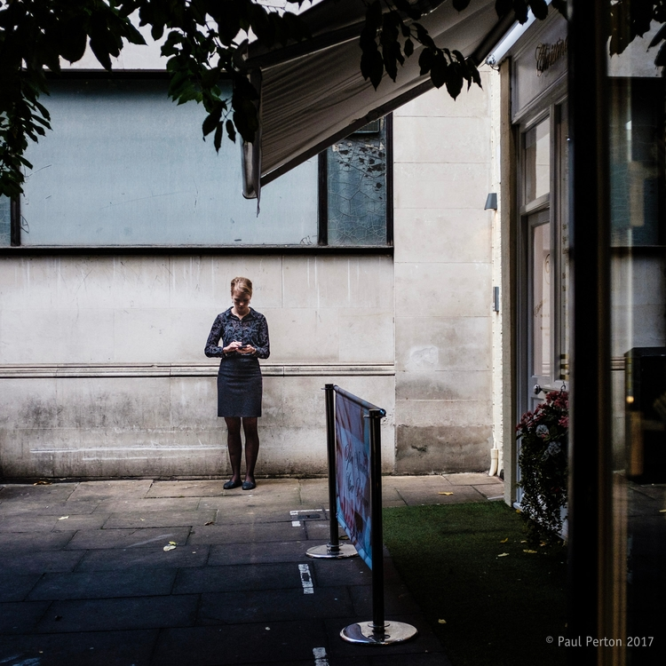 Smoke break, Shepherd Market -  - paulperton | ello