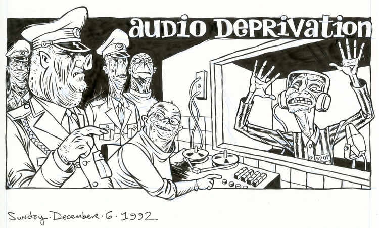 Audio Deprivation column header - dannyhellman | ello