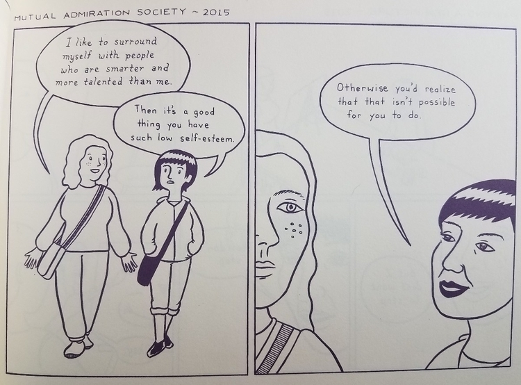 page graphic memoir female frie - marinaomi | ello