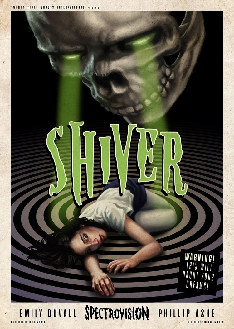 "Craig Maher ""Shiver"" 10x14 inch - craigmaher | ello"