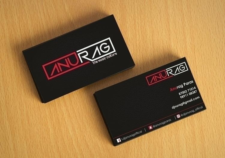 DJ Anurag Business Card - vistingcards - warrior6124 | ello