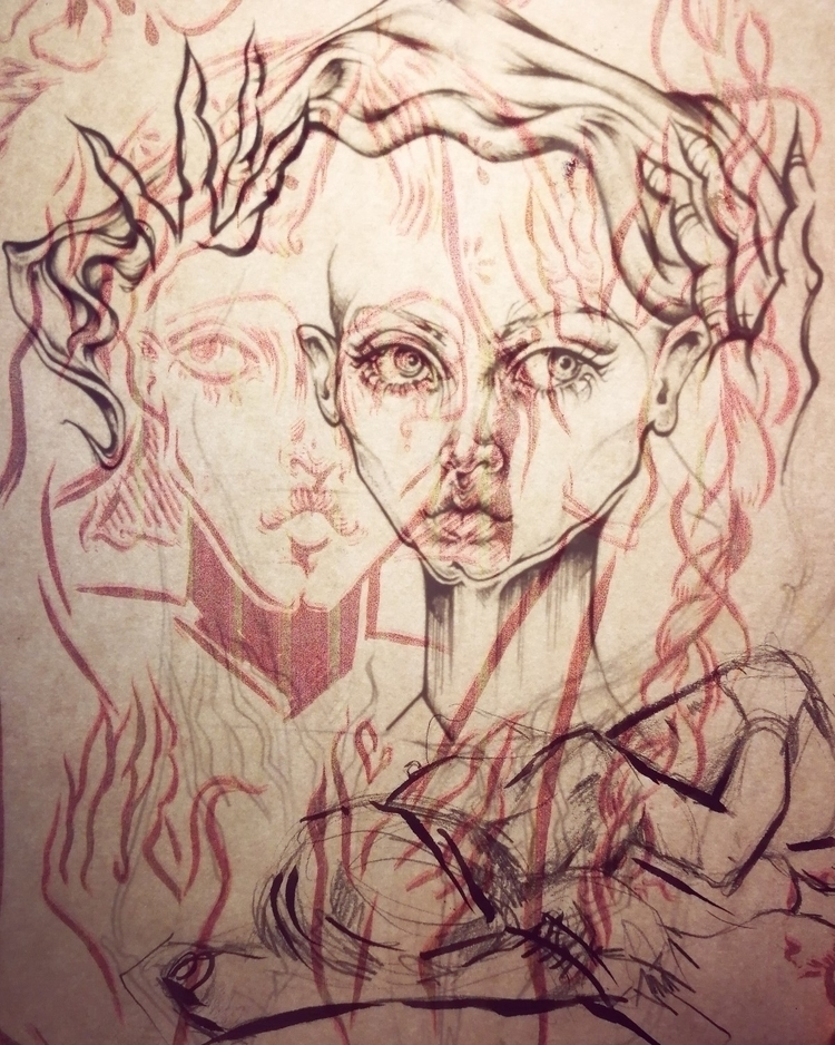Ghosts  - sketchsketchsketchagain - femsorcell | ello