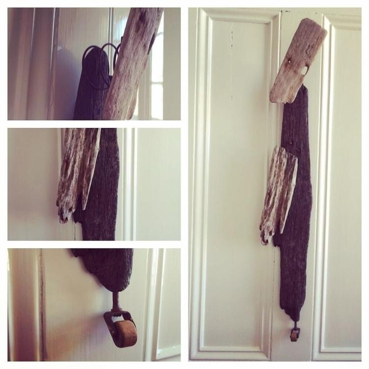 Driftwood wall hanging figure - eydiexo | ello