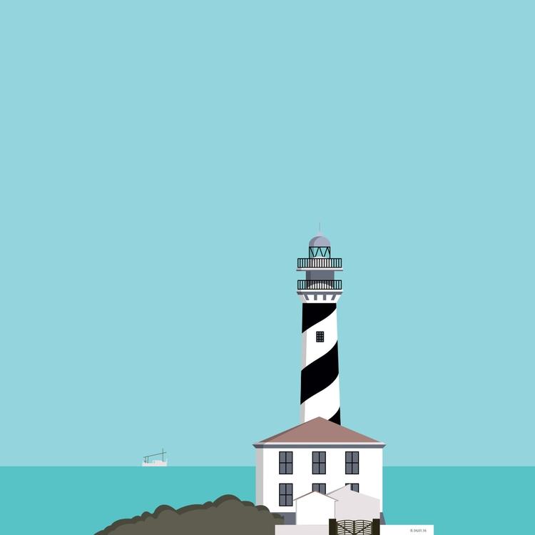 Day - menorca, illustration, digitalillustration - roserolivella | ello