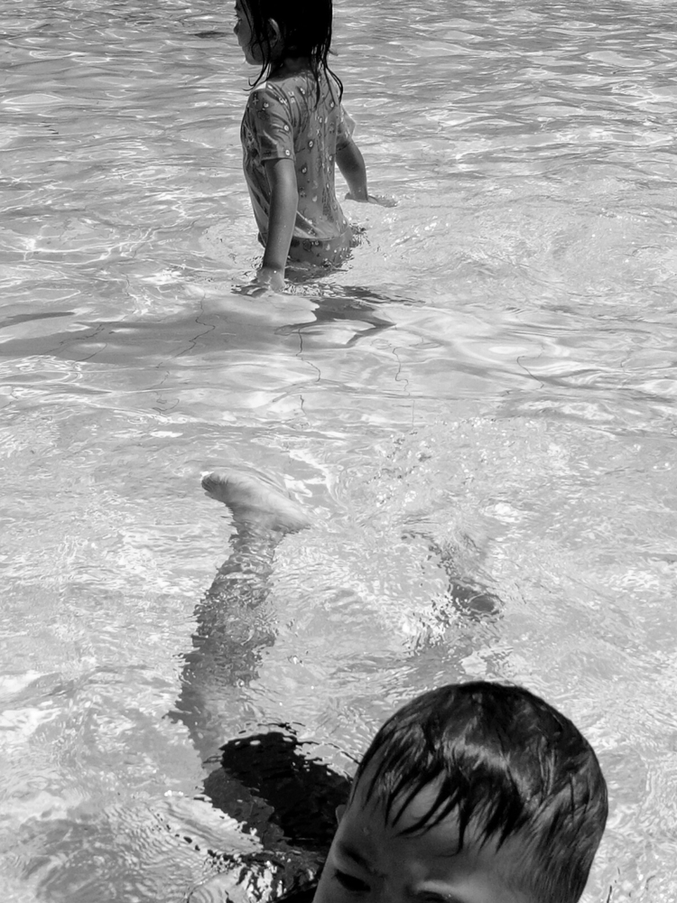 swimming pool - blackandwhite, photograph - uvha | ello