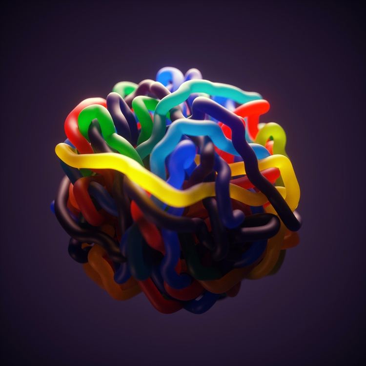 Candy Loop - abstract, surreal, 3d - dimashishkov | ello