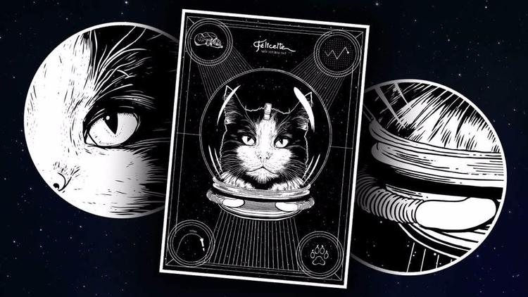 El primer gato astronauta del m - codigooculto | ello